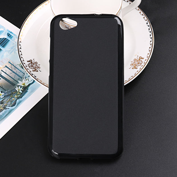Baicvery Soft Cover For ZTE Blade A6 Lite Case Soft Silicon Slim Matte Back Shell For ZTE A6 Lite Pudding Coque Fundas