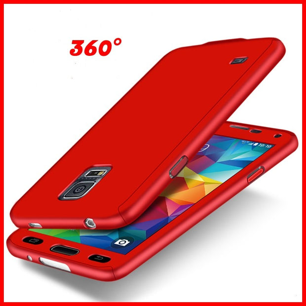 Beira 360 Full Body Phone Case PC Cover For Samsung Galaxy S5 Shockproof Coque For Galaxy S5 Back Para For Galaxy S5 Matte Cap