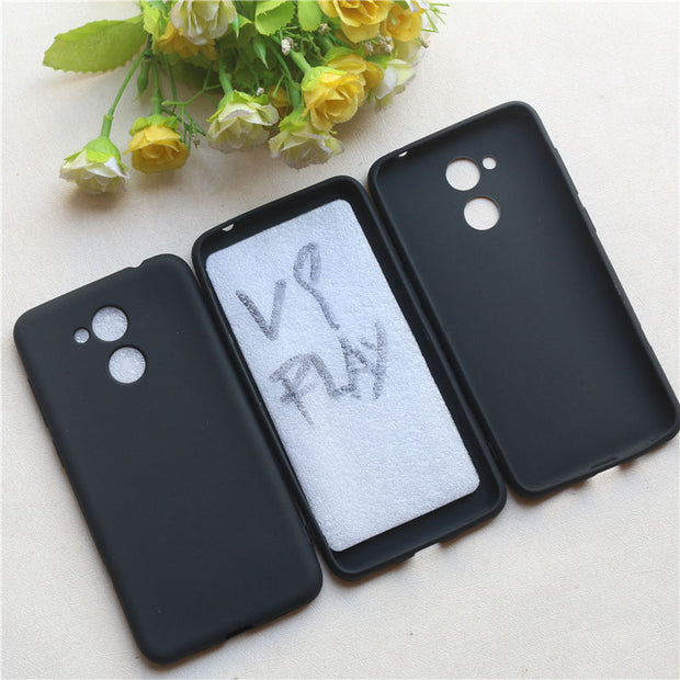 Black Soft TPU Matte Silicone Coque Case For Huawei Honor V9 Play Phone Funda Cover Capa Caso Capas Bag Cas Geval Apud Caz New