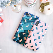 Blue Soft Shell For Iphone X Mirror Shell Caase For Iphone 7 8 PLus Back Cover For Iphone 6 6s Plus