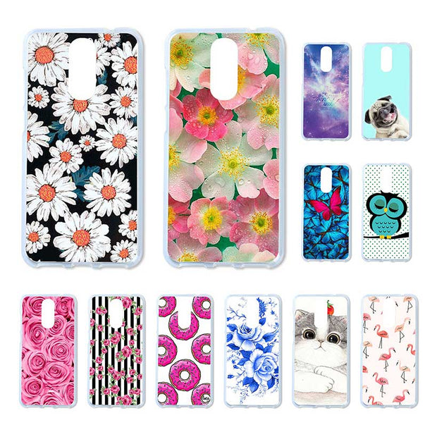 Bolomboy Painted Case For Cubot Note Plus Case Silicone Soft TPU For Cubot NotePlus Cover Coque Flamingo Spiderman Bags 5.2 Inch
