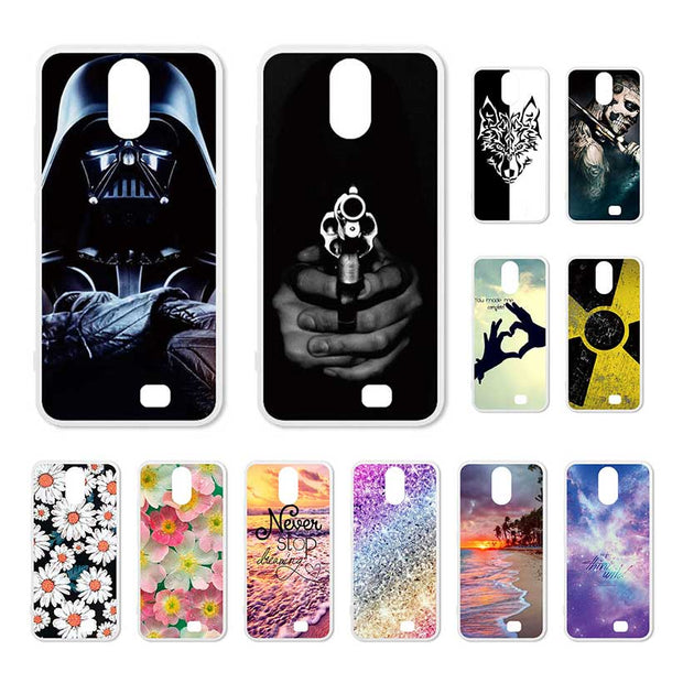 Bolomboy Painted Case For Homtom S12 Case Silicone Soft TPU For Homtom S12 Cover Coque Flamingo Spiderman Bags S 12 5.0 Inch