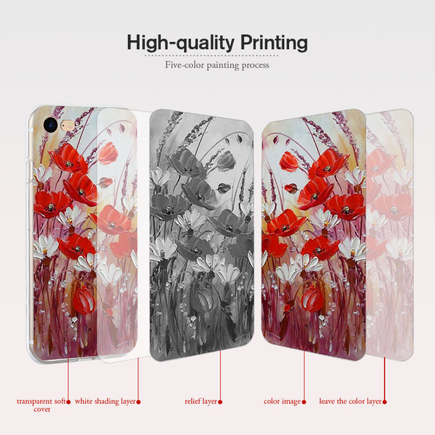 Bolomboy Painted Case For Leagoo M5 Case Silicone Soft TPU For Leagoo M5 Cover Coque Cute Flamingo Spiderman Bags M 5 5.0 Inch