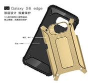Brand Tuke For Samsung Galaxy S6 Edge Heavy Duty Armor Hard Rubber Cover Silicone Phone Case For Samsung S6 Edge G925 G9250