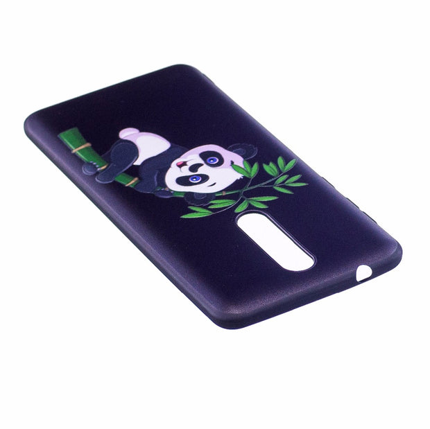 "COATUNCLE Case SFor Fundas Nokia 8 Case 360""Silicone Soft TPU 3D Relief Cartoon Phone Cases For Coque Nokia 8 Case Back Cover"