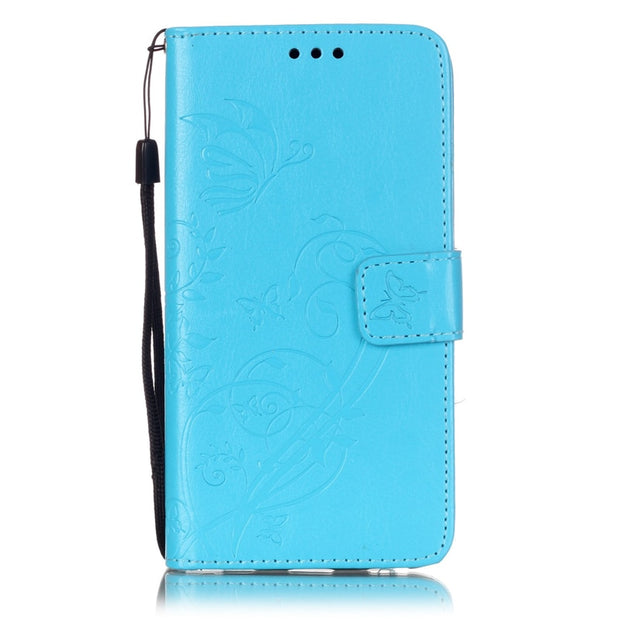 Card Slot Luxury Retro Flip Cover For Huawei P8 LITE PU Leather+ Silicone Wallet Case For Huawei Ascend P8 Lite Case