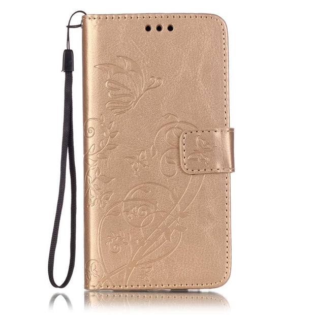 Card Slot Luxury Retro Flip Cover For Iphone 6s PU Leather+ Silicone Wallet Case For Iphone 6s Case Phone