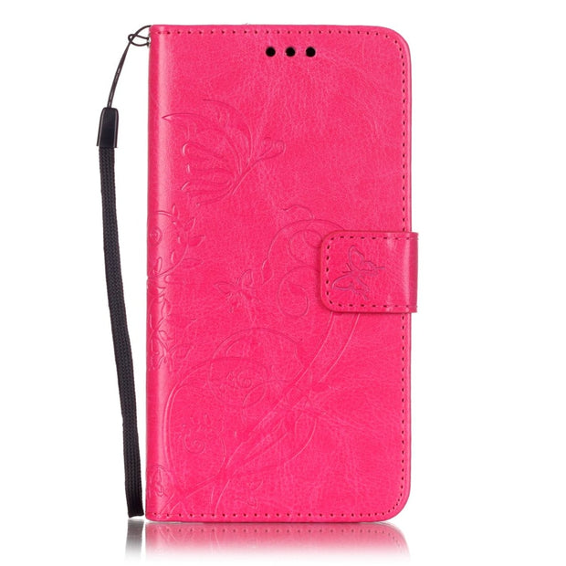 Card Slot Luxury Retro Flip Cover For Samsung Galaxy J1 2015 PU Leather+ Silicone Wallet Case For Samsung J1 J100F Case