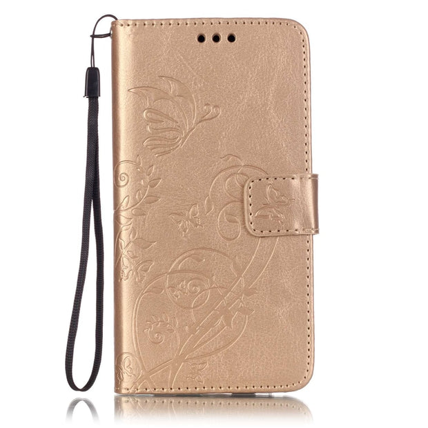 Card Slot Luxury Retro Flip Cover For Samsung Galaxy J5 2016 PU Leather+ Silicone Wallet Case For Samsung Galaxy J5 2016 J510