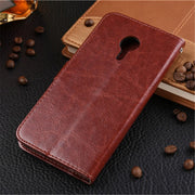 "Case For Coque Meizu Pro 5 Case Silicone Flip 5.7"" Wallet Retro Leather Phone Cover For Fundas Meizu Pro5 Case Phone Bag Capa"