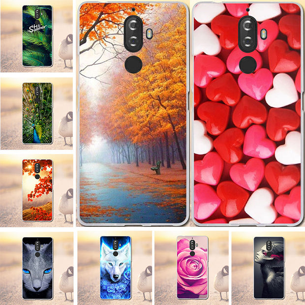 Case For Lenovo K8 Note Cases Cover 3D Pattern Silicone For Lenovo K8 Note Case Soft TPU Cover For Lenovo K8 Note Phone Bags