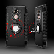 Case For Redmi Note 3 Case Cover Hard Hybrid Plastic Combo Magnetic Ring Armor Funda Cover Coque For Xiaomi Redmi Note 3 Capas