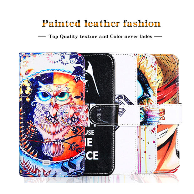 Case For ZTE Blade X3 Cases Flip PU Leather Coque For ZTE Blade A452 A330 A320 A310 A462 A1 X9 Grand X4 Cover Card Holder Capa