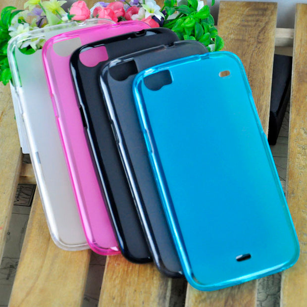 Case Protective Soft TPU Phone Case For Wiko Darkside Pudding Cases Cover Color Optional Good Choice For Gifts