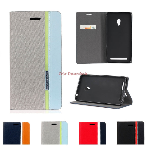 Case For ASUS T00F T00J T00P ZenFone 5 ZenFone5 Case A500CG A501CG A500KL A500 A501 CG KL TPU Back Flip Phone Leather Cover