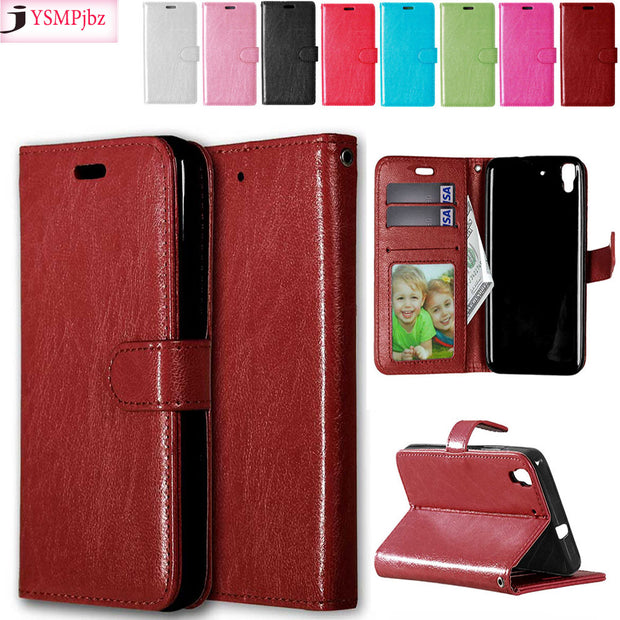 Case For Huawei Y6 Y 6 SCL L01 L02 L03 L04 21 SCL-L01 SCL-L02 SCL-L03 SCL-L04 Case Cover For Huawei Honor 4A Flip Phone Leather