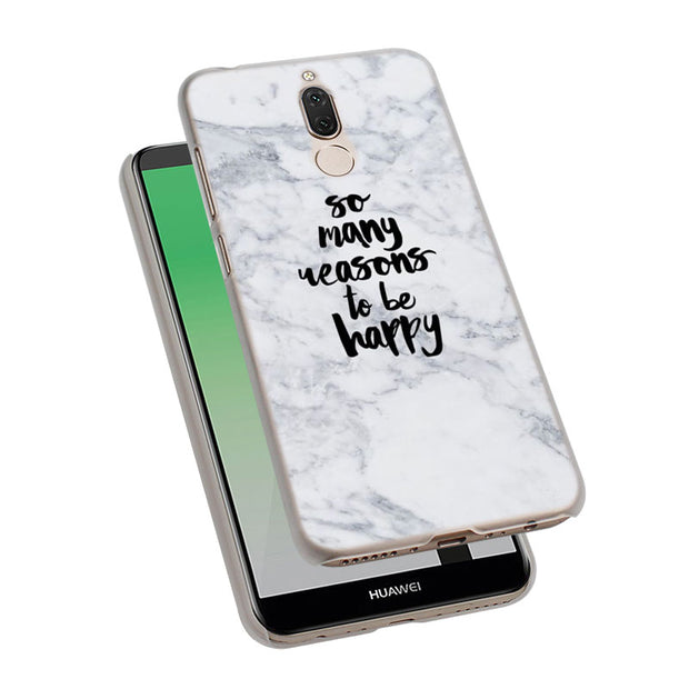Chic Pink Marble Pretty Phone Case Cover For Huawei Nova 2i 3 3e 3i 4 Mate 10 20 Lite P20 Pro P20 Lite Hard PC Phone Cases