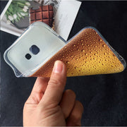 Chocolate Cookies Fries Beer Creativity Phone Case For Samsung A5 2017/A3 2017/s6/s7 Edge/s8/s8Plus Food Cover For Samsung S8
