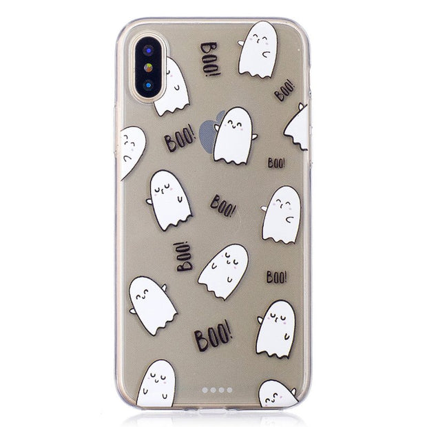 Coque For IPhone X Cases Cover For Capinha Apple IPhone X Rubber Clear TPU Gel For IPhoneX 10 Donuts Music Sexy Lips Etui Hoesje