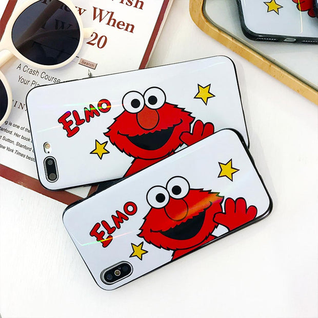 Couple Cartoon Anti-fall Soft Shell For IPhone 6S 7 8 Plus Funda For Iphone 6 7 8 For IPhone X XR XS MAX Drop-proof Back Covers