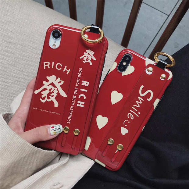 Creatives Chinese Characters Make A Fortune Soft Phone Case For OPPO R9 R9S R9PLUS R11 R11S R11PLUS R11S PLUS R15 R17 PRO Cover