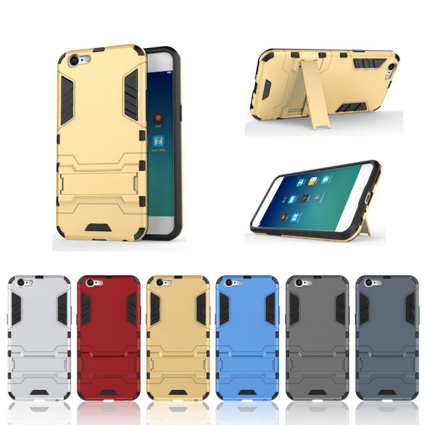 Crouch Anti-knock For OPPO A39 A 39 CPH1605 TD-LTE Case Silicone Shockproof Armor TPU Cover For Oppo Neo 9s Case Stand Holder