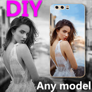 "Custom DIY Photo Logo Name Phone Case For Huawei Ascend P10 Plus P10+5.5"" Coque Clear Funda Capa For Huawei P10 Plus Shells"