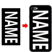 Customiz Name Letter Photo Picture Cell Phone Case For Lenovo ZUK Z2 5.0 Inch DIY Hard PC Back Case Cover Shell