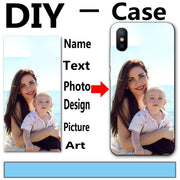 Customized Case For BQ Aquaris E5 M5 X5 PLus U Lite Plus For Iphone 5 6 7 8 Plus Case Back Cover For ZTE/Samsung/Nokia/Lenovo