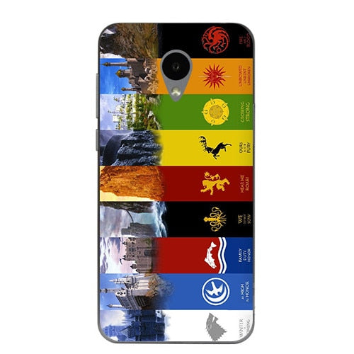 Cute Cartoon Case For Alcatel U5 3G 4047D 4047 U5 HD 5047D 5047 5047Y U 5 U5 4G 5044D 5044 Cover Game Of Thrones 7 New