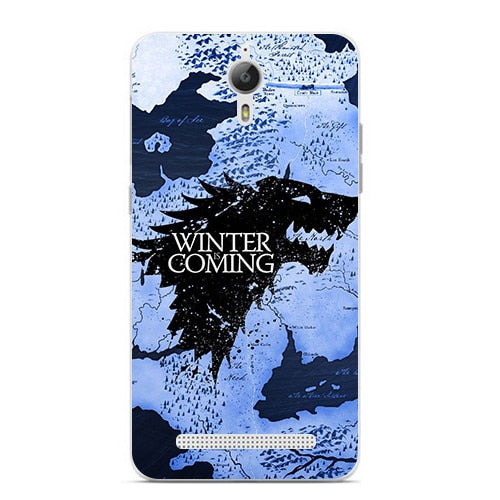 Cute Cartoon Case For Coolpad Porto S E570 7722 8722V Hard Plastic Case Fashion Printed Cover Game Of Thrones 7 New