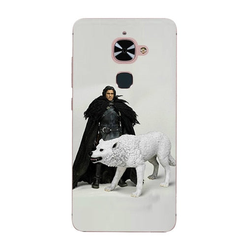 Cute Cartoon Case For LeTV LeEco Le 2 X520 Le2 Pro X527 X526 X620 Le S3 X626 2S Hard Plastic Case Print Cover Game Of Thrones 7