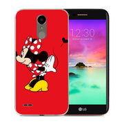 Cute Mickey Minnie Mouse Phone Case Cover For LG G4 G5 G6 X Power 2 X Screen Q6 Q8 K7 K8 K10 2017 Cases Cover Etui Capa Shell