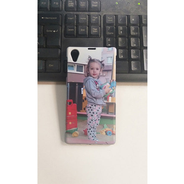 DIY Custom Photo Name Cover Case For Lenovo Vibe Shot Z90
