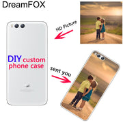 DREAMFOX Customized DIY Soft TPU Silicone Case Cover For Xiaomi Mi Note 2 3 4 5 6 M5 4C 4S 5C 5S 5X 6X A1 Plus