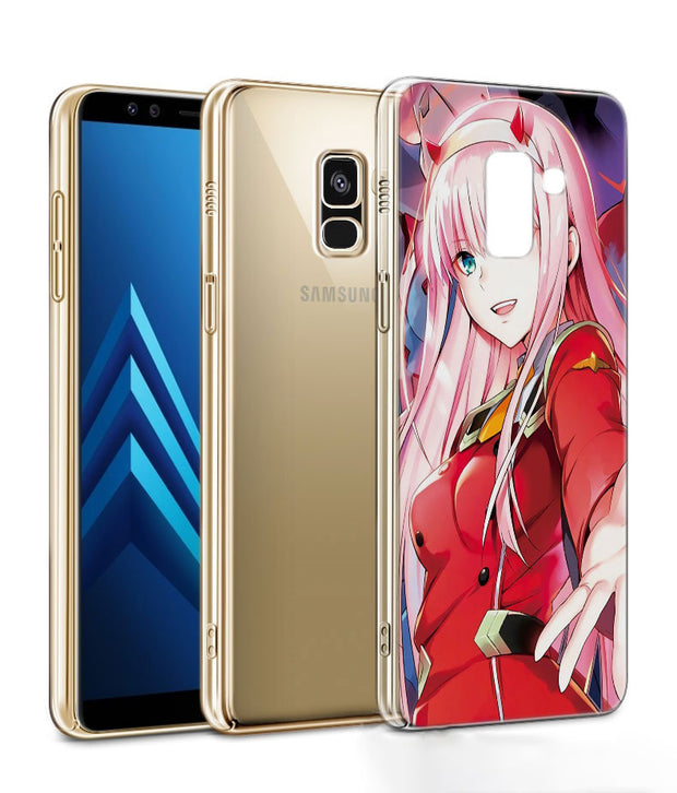 Darling In The FranXX Phone Case For Samsung Galaxy J2 J3 J4 Plus J5 J6 Plus J7 J8 2018 Soft Silicone Cases Cover