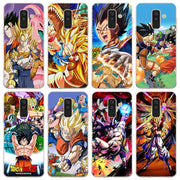 Dragon Ball Z Super Goku Phone Case For Samsung Galaxy J2 J3 J4 Plus J5 J6 Plus J7 J8 2018 Soft Silicone Cases Cover