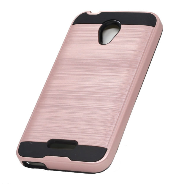 Dual Layer Soft Rubber & Hard PC Brushed Armor Case Anti Drop Cover For Alcatel Verso/idealXCITE/Cameo X 5044R/Raven LTE A574BL