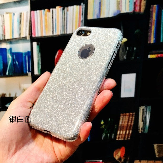 EKDME Luxury TPU Phone Case For IPhone 6 8 7 X 6s Plus 5S Protective Back Cover For IPhone 7 6 6S 8 Plus X Coque
