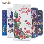FLYKYLN Leather Phone Case On For Huawei P Smart 2019 Case Luxury 3D Flip Wallet Book Cover For Huawei Honor 10 Lite Case Cover