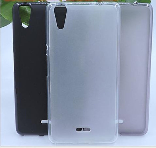 FOR Micromax Canvas Selfie 2 Q340 Case Soft TPU Back Protective Cover Coque Fundas Caso Capa Matte Pudding Silicone