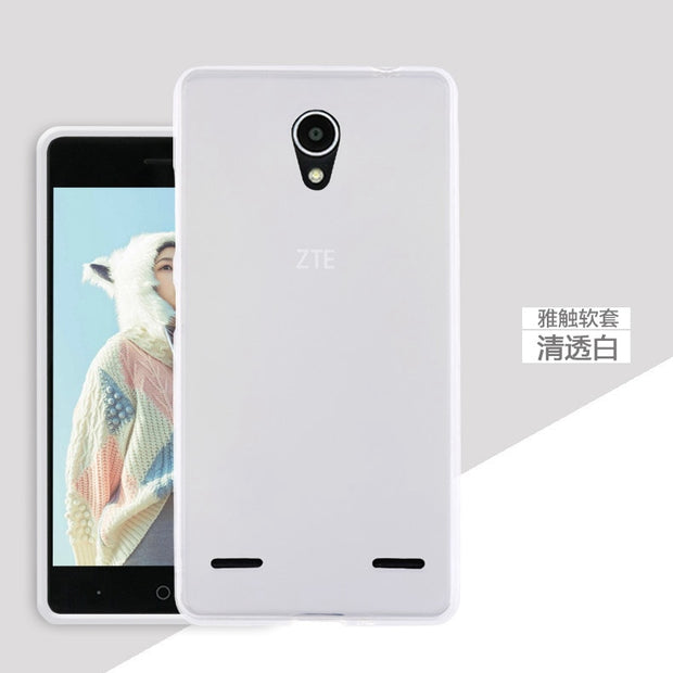 Fashion Back Gel Silicon Soft Cas For ZET A603 Anti Skid Matte Cover For ZTE BA603 Top Quality