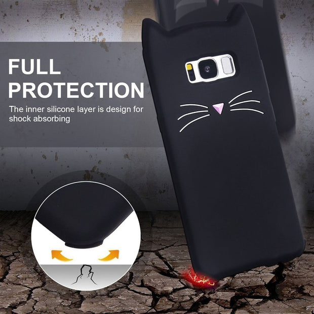 Fashion Cute Back Cover For Samsung Galaxy J3 J5 J7 2017 A3 A5 2016 J1 J120F S8 S7 S6 S4 S3 G531 G361 Duos Case Phone Protector