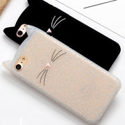 Fashion Cute Soft Silicone Back Cover Case For IPhone X Ten 10 8 7 6 6S Plus 5 5S SE 4 4S Back Cover Case Shell For IPhone X Ten