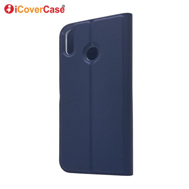 Fashion Flip Coque Case For Huawei Honor 8X Leather Wallet Cover