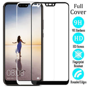 Fashion Tempered Glass Phone Case For Huawei P20 Lite NOVA3E Screen Protective Film Front Cover For Huawei P20 Pro Cases Coque