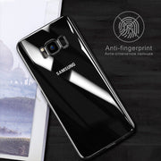 Fashion Transparent Clear Phone Case For Samsung Galaxy S8 S9 Plus Hard PC Plastic Anti-skid Cover For Samsung S9 S8 Plus Note 8