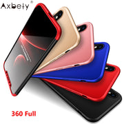 Fashion Ultra Slim Case For IPhone X Case Original Hybrid Hard Plastic PC Full Protect Cover For IPhone X 10 Ten Phone Cases