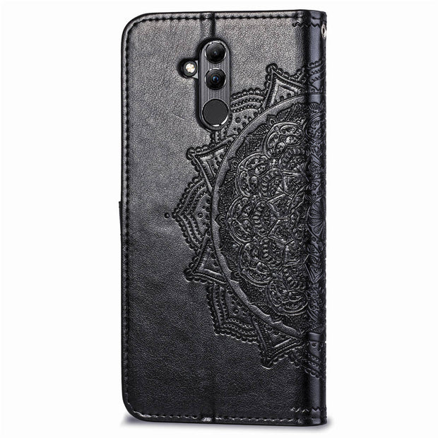 Filp Phone Case For Huawei Mate 20 Lite Shell Purse Pouch Wallet Style Card Slot Cover SFor Hawei Nova 3i Coque Embossed Pattern