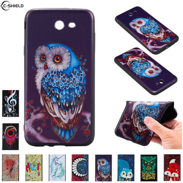 Fitted Case For Samsung Galaxy J7 Verizon V Case Mobile Phone Cover  SM-J727P SM-J727A SM-J727V SM-J727R4 SM J727P J727A Coque